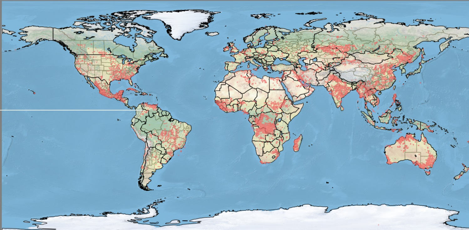Detecting Forest Fires With Satellite Earth Observation Remote - Real time satellite map