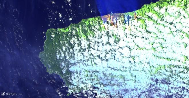 Sentinel-2 L1C image on 2019-12-21