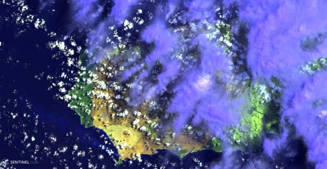 Sentinel-2 L1C image on 2020-01-05 (2)